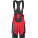 Löffler Winner Bib Shorts Men red/black